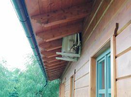 Dodávka klimatizace/tepelného čerpadla do dřevostaveb