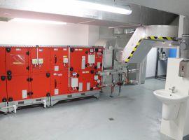 Vzduchotechnické potrubí ATC MONT ve Velkém Meziříčí